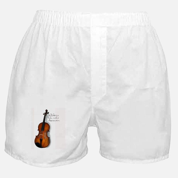 The Glorious Viola Boxer Shorts