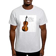 The Glorious Viola Ash Grey T-Shirt