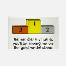 Remember My Name Rectangle Magnet