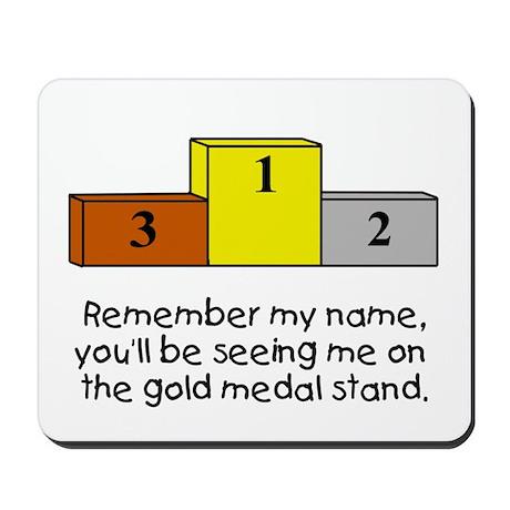 Remember My Name Mousepad