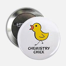 "Chemistry Chick 2.25"" Button"
