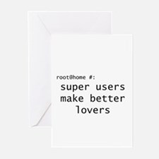 Super User Greeting Cards (Pk of 10)