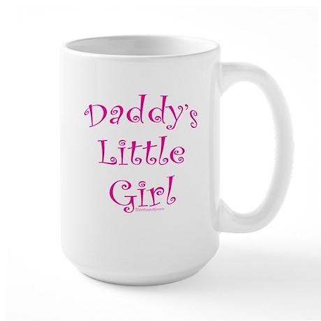 Daddy's Little Girl Large Mug