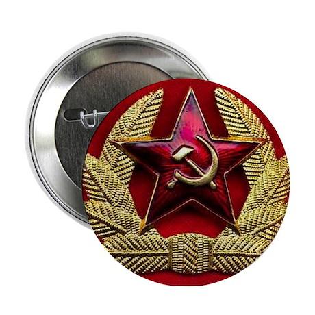 Soviet Union Red Star Button