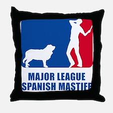 Spanish Mastiff Throw Pillow