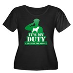 Soft Coated Wheaten Terrier Women's Plus Size Scoo