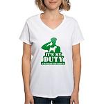 Soft Coated Wheaten Terrier Women's V-Neck T-Shirt