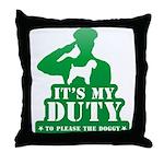 Soft Coated Wheaten Terrier Throw Pillow