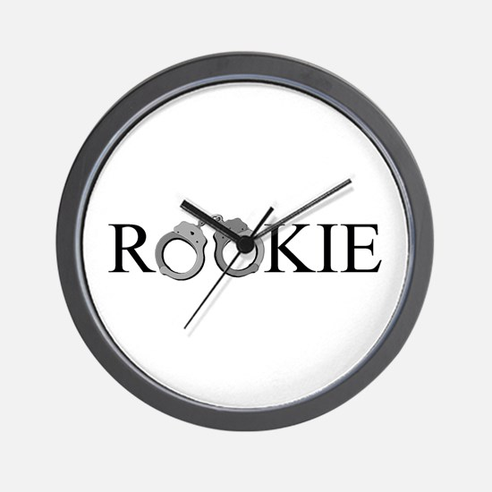 Rookie Wall Clock