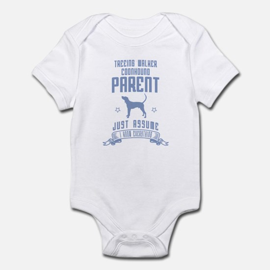Treeing Walker Coonhound Infant Bodysuit