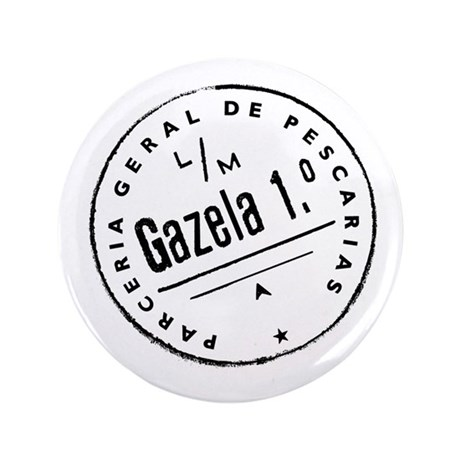 "Gazela Seal 3.5"" Button"