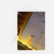 Millenium Park Wading Pool Greeting Cards (Package
