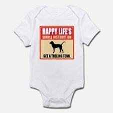 Treeing Tennessee Brindle Infant Bodysuit