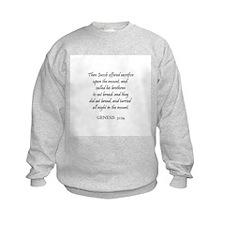 GENESIS  31:54 Sweatshirt
