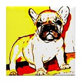 French  bulldog coaster Drink Coasters