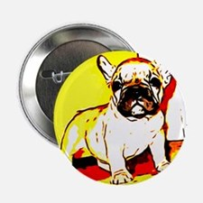 "French Bulldog Art 2.25"" Button"