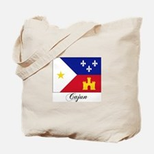 Cajun Flag Tote Bag