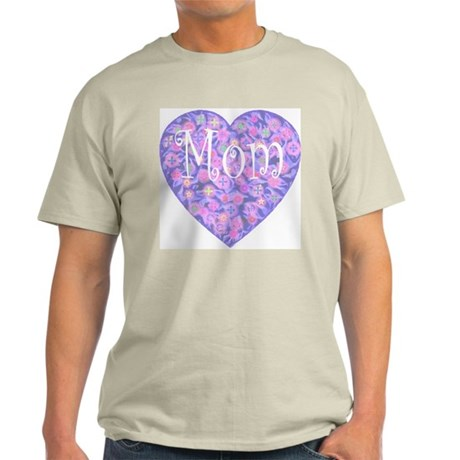 LOVE Mom Ash Grey T-Shirt
