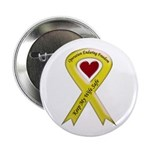 Military wife yellow ribbon OEF Button