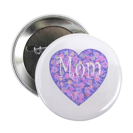 "LOVE Mom 2.25"" Button (10 pack)"