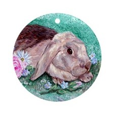 Maddison the Rabbit Keepsake (Round)