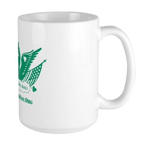Winged Fist Large Mug