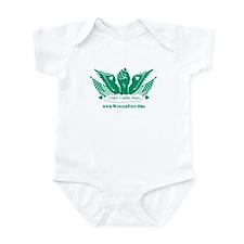 Winged Fist Infant Bodysuit