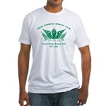 Winged Fist Fitted T-Shirt