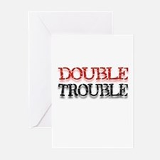 Double Trouble Greeting Cards (Pk of 10)
