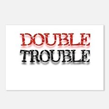 Double Trouble Postcards (Package of 8)