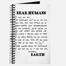 Letter to Humans from Earth Journal