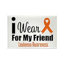 I Wear Orange For My Friend Rectangle Magnet (10 p