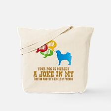 Tibetan Mastiff Tote Bag