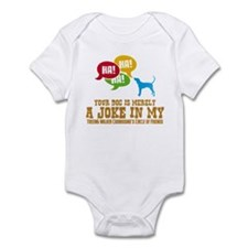 Treeing Walker Coonhound Infant Bodysuit