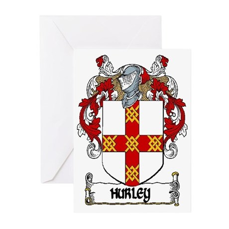Hurley Coat of Arms Note Cards (Pk of 10)
