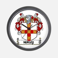 Hurley Coat of Arms Wall Clock