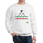 FROG eyechart Sweatshirt