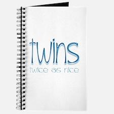 Twins - Twice as Nice Journal