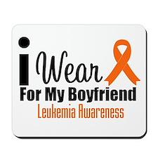 I Wear Orange For My Boyfriend Mousepad