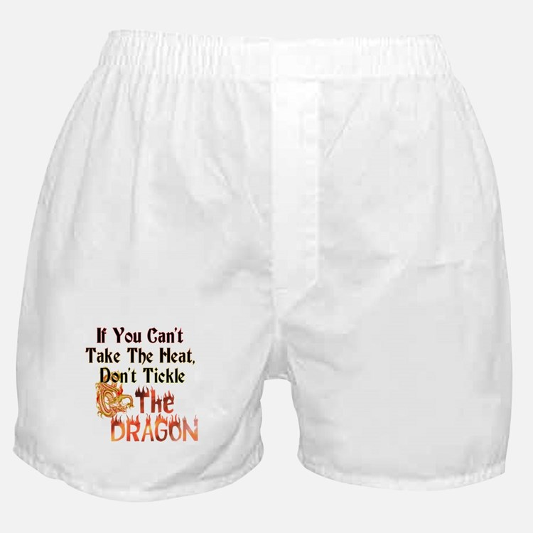 Don't tickle the Dragon Boxer Shorts