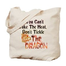 Don't tickle the Dragon Tote Bag