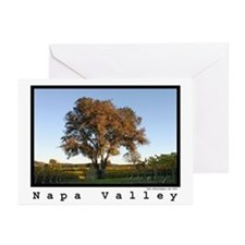 napa valley wine country autumn Greeting Cards (6)