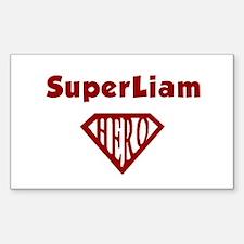 Super Hero Liam Rectangle Decal