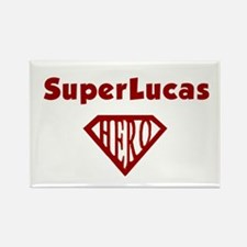 Super Hero Lucas Rectangle Magnet