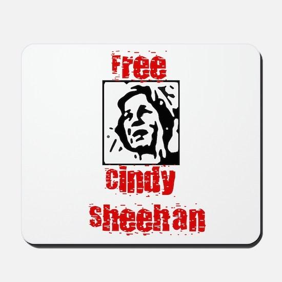 Free Cindy Sheehan Mousepad