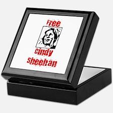 Free Cindy Sheehan Keepsake Box