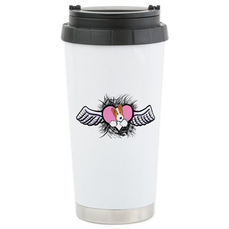 Winged Heart JRT Stainless Steel Travel Mug