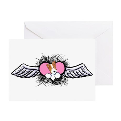 Winged Heart JRT Greeting Card