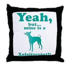 Xoloitzcuintli Throw Pillow