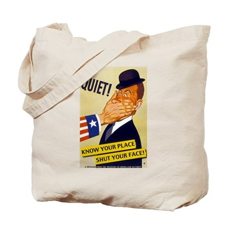 Know Your Place Tote Bag